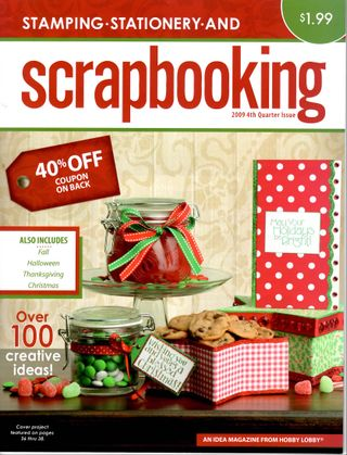 Scrapbooking 2009 4th Quarter Cover