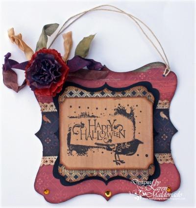 Wall Hanger_Happy Halloween_Karen _400Mjpg