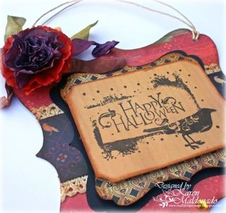 Wall Hanger_Happy Halloween_sideview_400