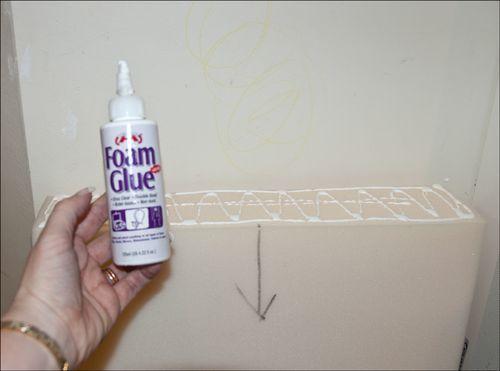 Foam-glue