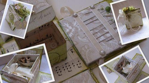Mandy collins helmar design team altered art