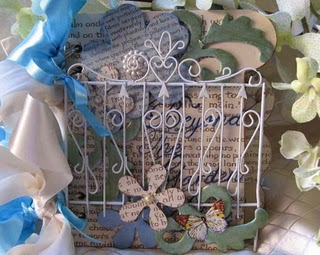 Mandy collins altered book cover helmar adhesives