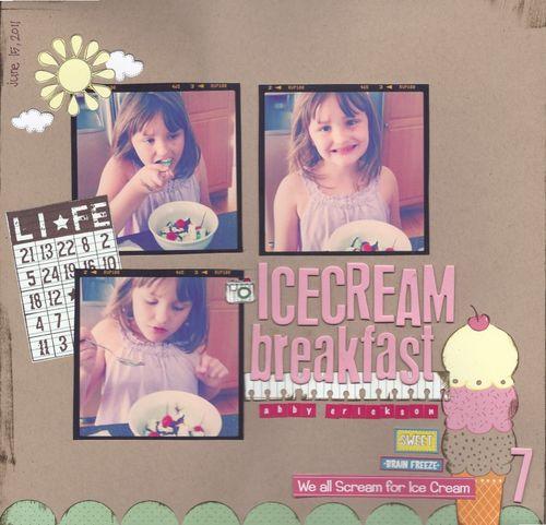 Icecream breakfast (abby 7)
