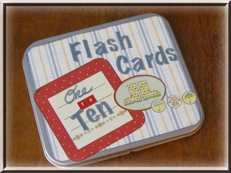 Flash Card Tin