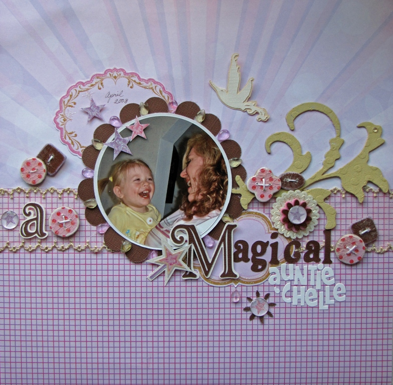 A Magical Auntie'Chelle by Carole Stirrat
