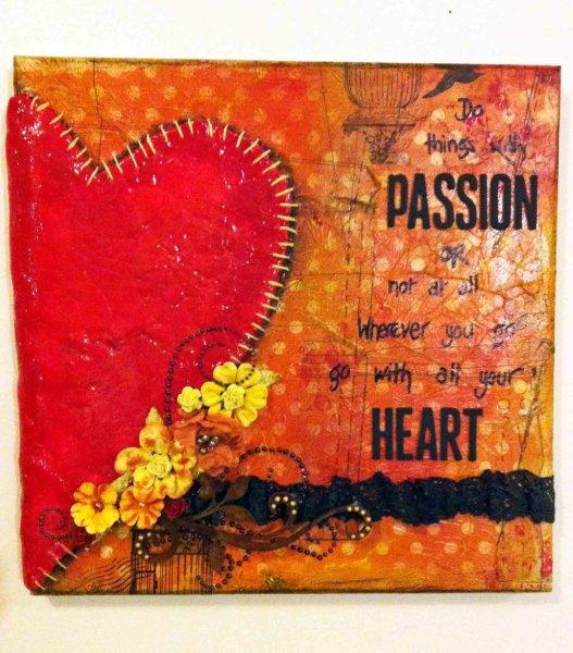 Heart full of passion