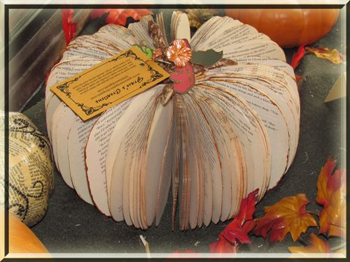 Book Pumpkin #2 short and fat