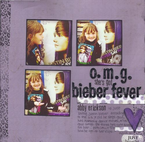 Bieber fever - lily bee