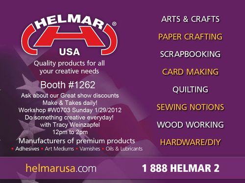 Helmar USA Banner CHA 2012
