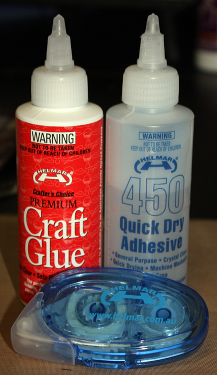 Helmar Craft Glue, 450 and Adhesive Runner