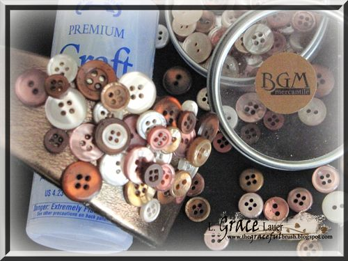 Buttons galore head band supplies