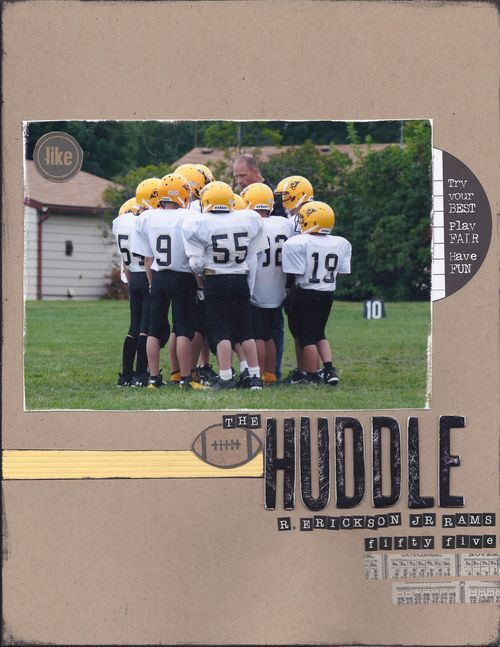 The huddle - Copy