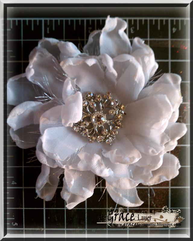 Bridal Flower Hair Piece Helmar Sheay Cono