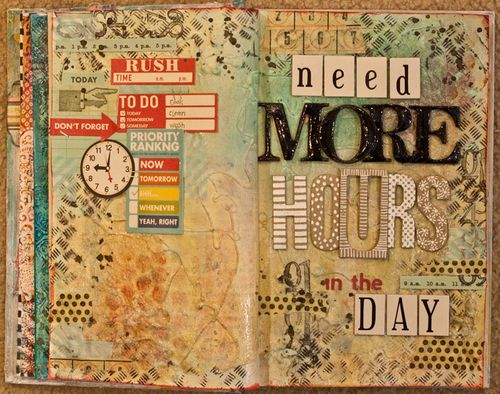 Art-Journal-July-Challenge