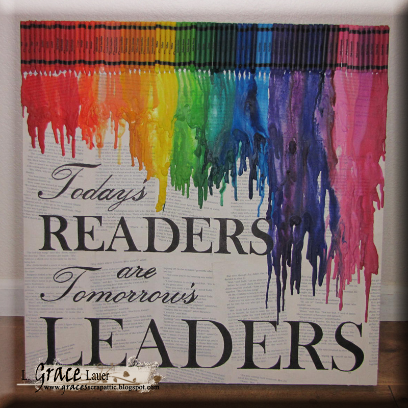 Helmar Gesso Faber Castell Crayon Canvas Readers are leaders