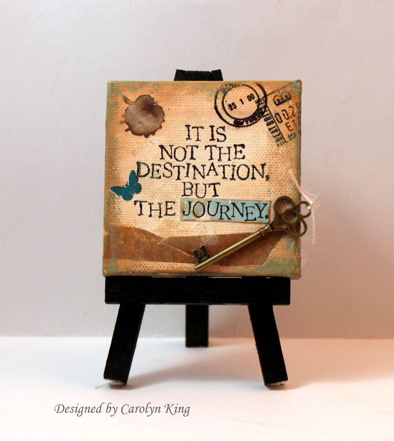 CK Journey mini canvas