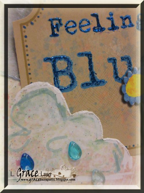 Feeling Blue closeup Susan K