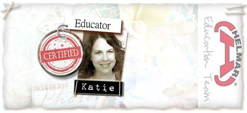 Katie Helmar Educator Badge