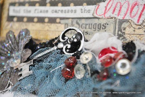 Skeleton key, Helmar, ALLassiter, close up