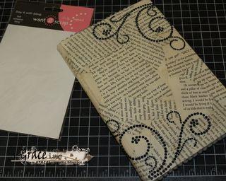 Step 12 Kindle Book cover helmar Craft Glue