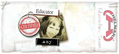 Amy educator badge