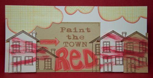 Paint the town red_card_helmar_susan k. weckesser