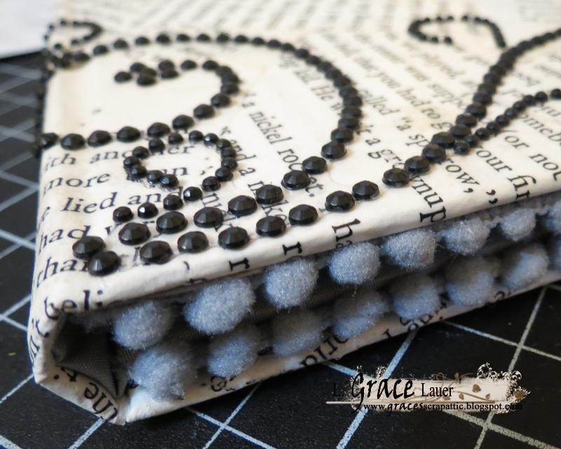 Step 12 Kindle Book cover helmar Craft Glue closeup
