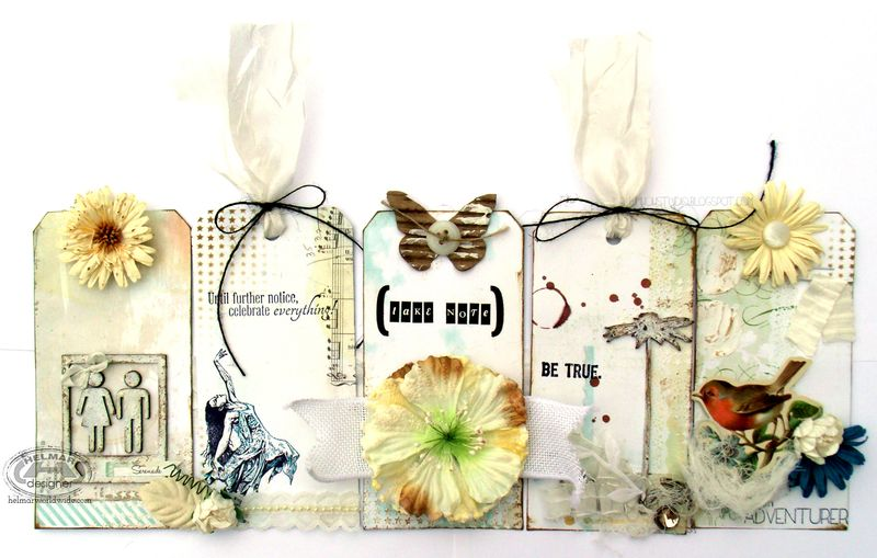 DeeDee Catron - Take Note Tags - UmWowStudio - Helmar