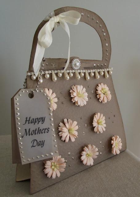 Dianne Hanson mothers day handbag card