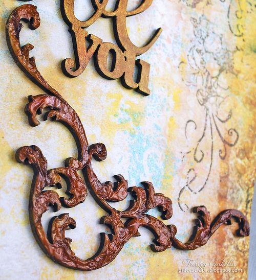 Sat A Lifetime is . . . for Helmar ~ Tracey Sabella gracescraps.blogspot.com Close-up Sm Flourish