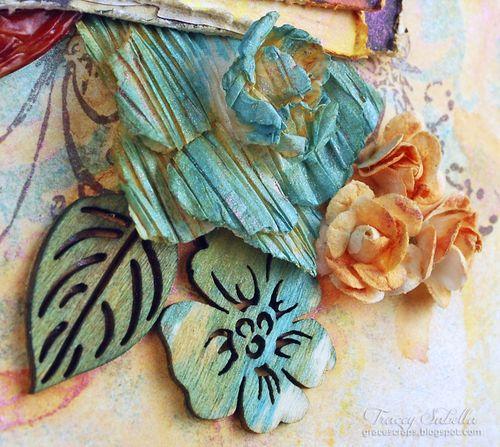 Sat A Lifetime is . . . for Helmar ~ Tracey Sabella gracescraps.blogspot.com Close-up Center Cluster