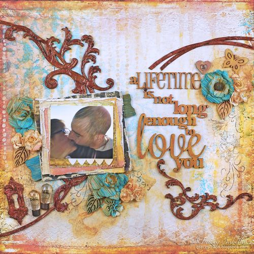 Sat A Lifetime is . . . for Helmar ~ Tracey Sabella gracescraps.blogspot.com