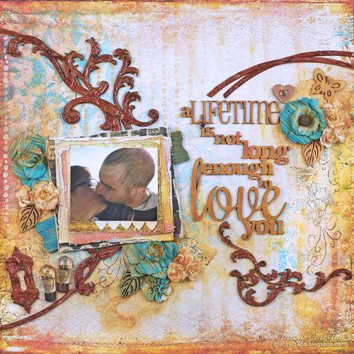 Sat A Lifetime is . . . for Helmar ~ Tracey Sabella gracescraps.blogspot.com