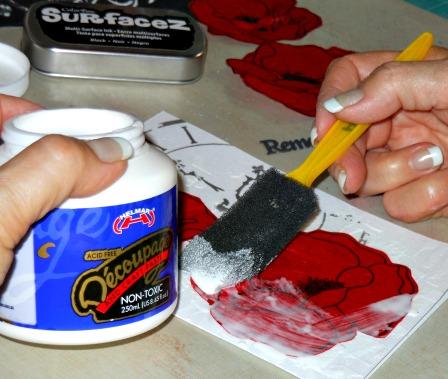 Poppy glue