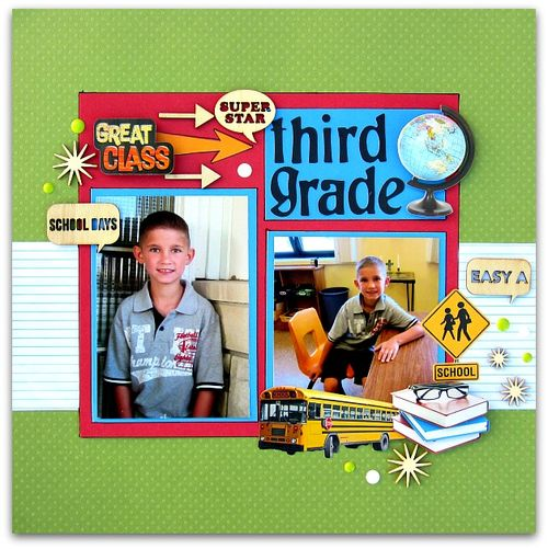 Third Grade Helmar Layout January