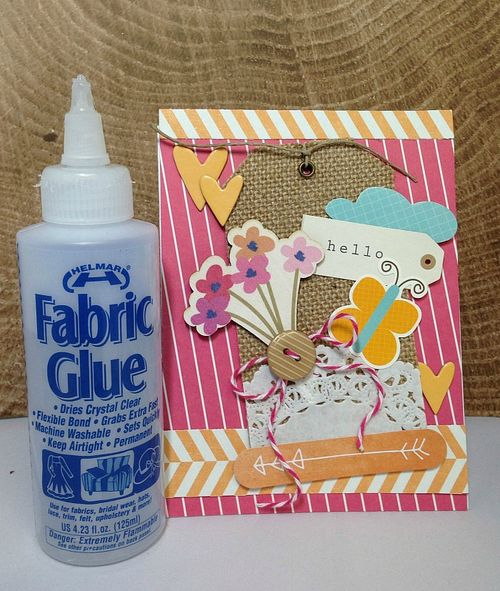 Helmar Fabric Glue