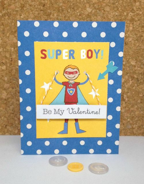 Super Boy Card