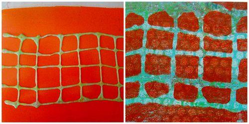 Helmar Foam Glue stencil - sandee setliff