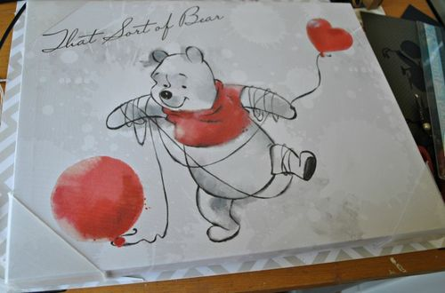 Pooh canvas 1