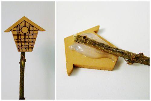 Fairy birdhouse - sandee setliff