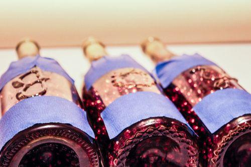 Jvanderbeek_helmar_holiday_bottleart_raised_glue_letters