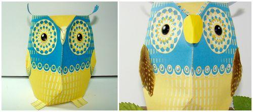 Embellished owl