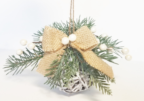 Grapevine ball ornaments by erin reed