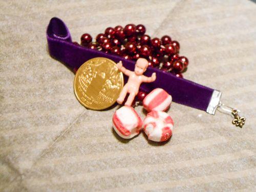 Jvanderbeek_helmar_kingcake_pillowbox_trinkets_gifts_beads_dubloons