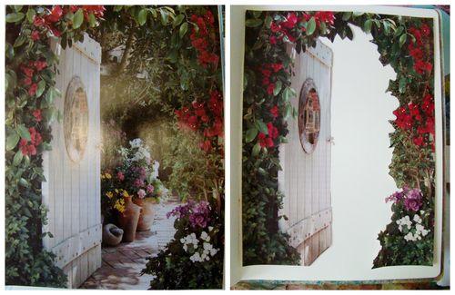 Garden Art Journal page1 - sandee setliff