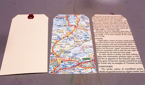 Jvanderbeek_helmar_tags_upcycled_bookpages_maps