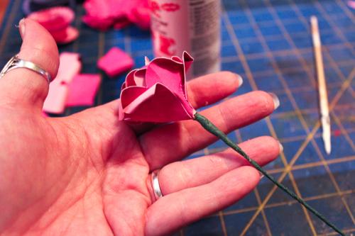 Jvanderbeek_helmar_florigami_paper_flowers_floraltape_wire_stems